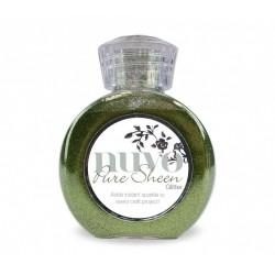 Pure Scheen Glitter - Verde Oliva