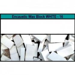 Arts encaustic blocchi - bianco (white) 16s