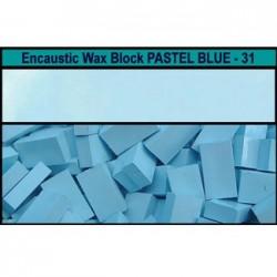 Arts encaustic blocchi - azzurro cielo (pastel blue) 31e