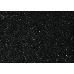 Panno Glitter A4 - Nero