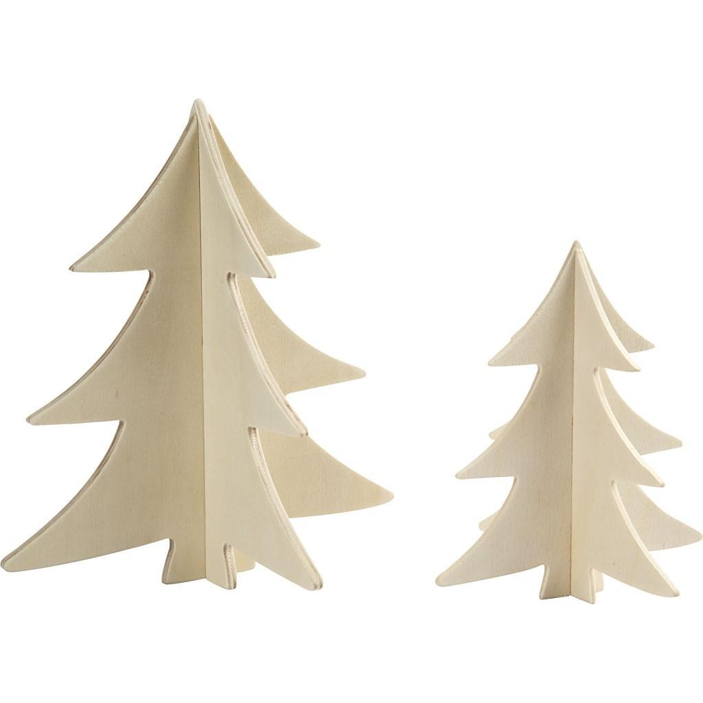 Albero Di Natale 3d.Legno Alberi Di Natale 3d