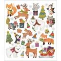 Stickers - Animali Natalizi