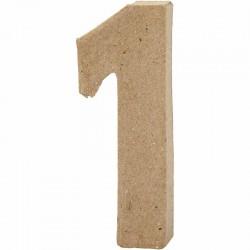 Numero 1 in cartapesta