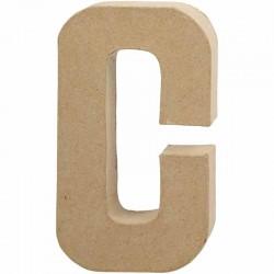 Lettera A in cartapesta