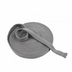 Tubo di maglia, h 2,2 cm - 1 mt GRIGIO