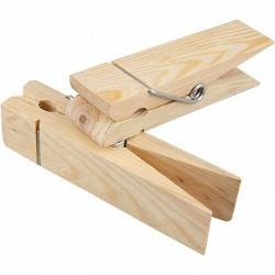 Mollettone in legno L. 15 cm, h 3,5 cm, 1 pz