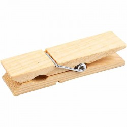 Mollette medie di legno
