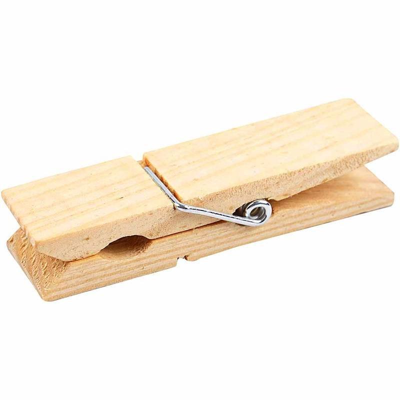 Eccezionale Mollettone in legno IB75