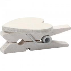 Mollettina di legno 17x25 mm - 10 pz