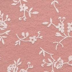 Panno Stampato Sambuco Rosa Antico