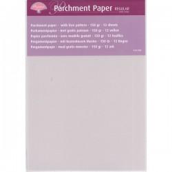 Carta pergamena a5 - 12 pcs