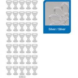 Sticker argento comunione a892