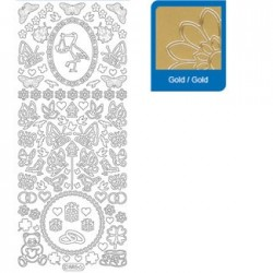 Sticker oro matrimonio 885