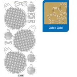 Sticker oro mosaico 989