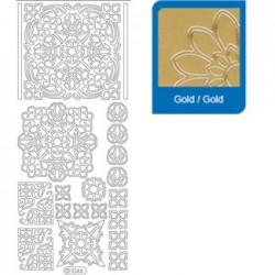 Sticker oro mosaico 1044