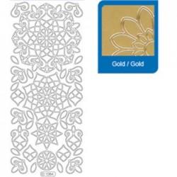 Sticker oro mosaico 1084