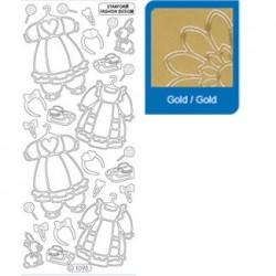 Sticker oro nascita 1093