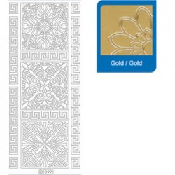 Sticker oro primavera 1099