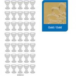 Sticker oro comunione 892