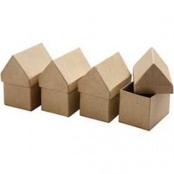 Casette in cartone cn 6 x 8,5 conf. 4 pezzi