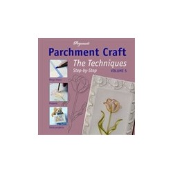 Book - parchment craft - techniques vol 5 (inglese)