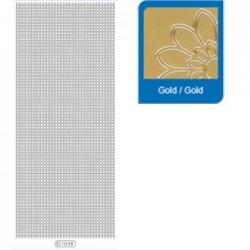 Sticker oro mosaico 1038