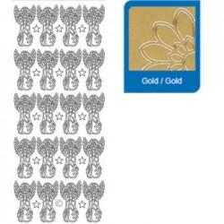 Sticker oro comunione 858
