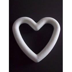 Cornice cuore polistirolo - 15 cm