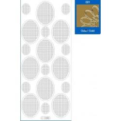 Sticker oro mosaico 1080