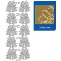 Stickers oro campanelle 1030