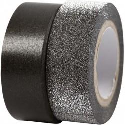 Design Tape 15 mm,  NERO