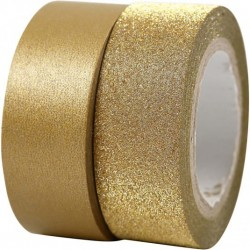 Design Tape 15 mm,  ORO