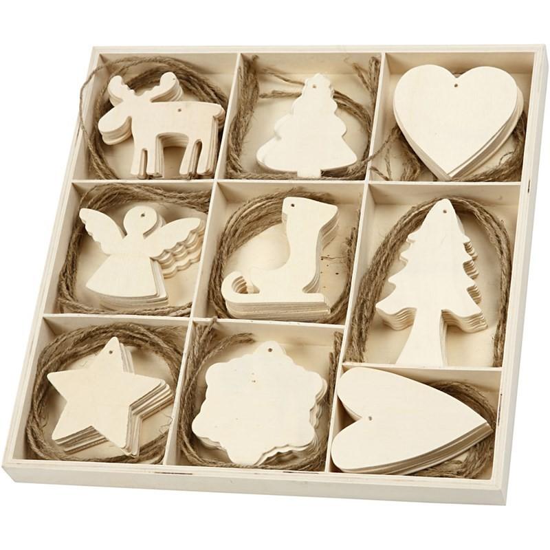 Decoupage & Supporti > Legno > Decorazioni di legno - Natale