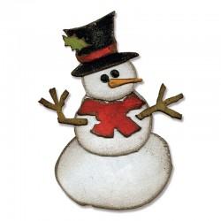 Fustella slitta Babbo Natale
