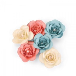 Fustella rose 3D