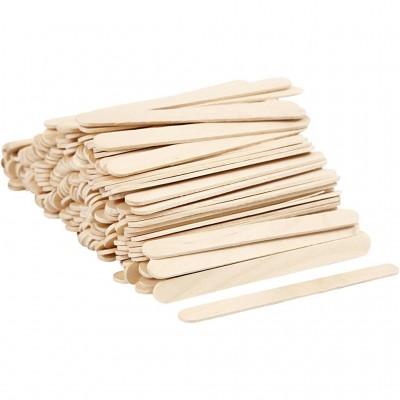 Abbassalingua in legno L 20 cm h 2,5 cm, 50 pz