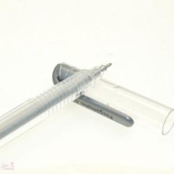 Penna gel argento