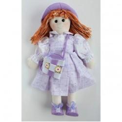 Kit bambola cecilia abito lilla