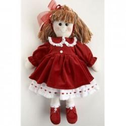Kit bambola cecilia abito in velluto