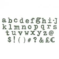 Fustella alfabeto XL