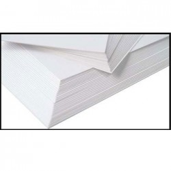 Carta per dipingere bianca  a6