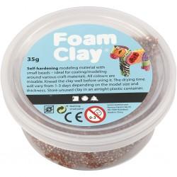 Foam Clay 35 gr Bianco Glitter