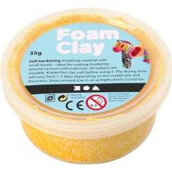 Foam Clay - GIALLO