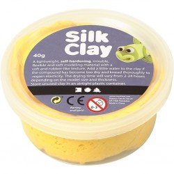 Silk Clay 40 gr Giallo