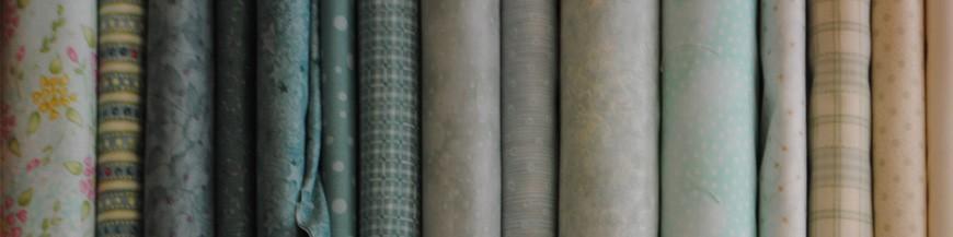 Tessuti verde - verde acqua