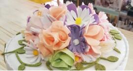 Fiorellino di Primavera in Panno